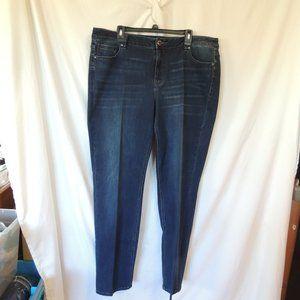 Lane Bryant Womens Straight jeans size 22L